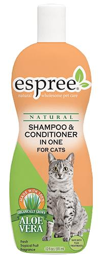 Shampoo And Conditioner In One For Cats 12 oz By Espree Animal Products