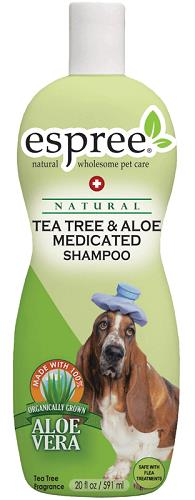 Tea Tree & Aloe Medicated Shampoo 20 oz By Espree Animal Products