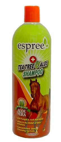 Tea Tree & Aloe Shampoo For Horses 32 oz By Espree Animal Products