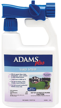 Adams Plus Yard Spray With Sprayer 32 oz By Farnam