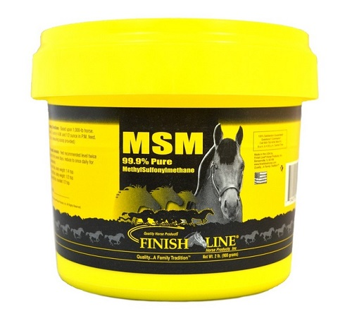 MSM 4Lbs 4Lb By Finish Line Horse Products