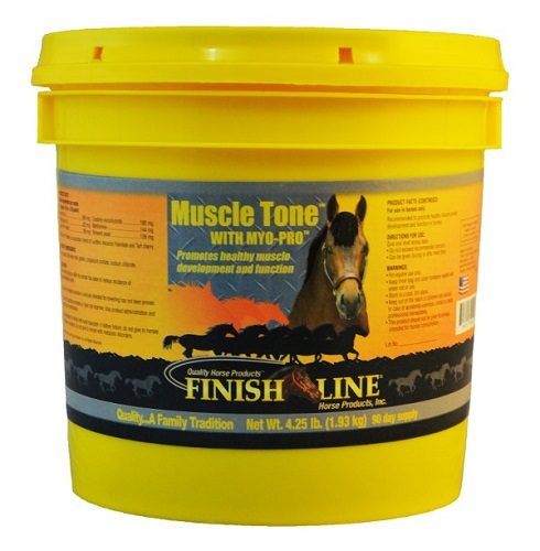 Muscle Tone 4.25Lbs Each By Finish Line Horse Products