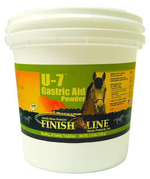 U-7 Gastric Aid Powder 1.6Lb By Finish Line Horse Products