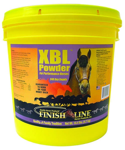 Xbl Powder 240 Day 10.4Lb 10Lb By Finish Line Horse Products
