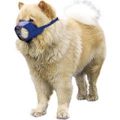Muzzle Canine Quick Chow/Short Snouted Nylon (9.5 Snout) Medium Each By Four Fl