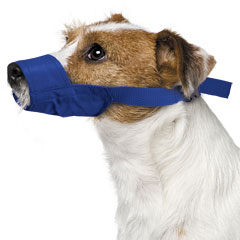 Muzzle Canine Quick Nylon (5.5 Snout / 10-25#) Small Each By Four Flags