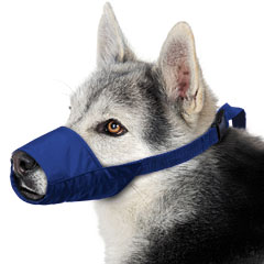 Muzzle Canine Quick Nylon (7.5 Snout / 45-60#) Large Each By Four Flags