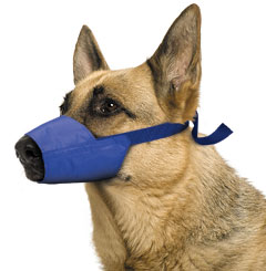Muzzle Canine Quick Nylon (8.5 Snout / 60-80#) XLarge Each By Four Flags