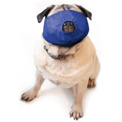 Muzzle Canine Quick Pug-Nosed/Brachycephalic Nylon (12-30#) Large Each By Four F
