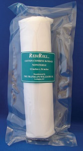 Rediroll Cotton Combine Bandage [Nonsterile] 12 X36 Cs12 By Franklin Electric