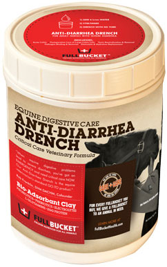 Fullbucket Equine Anti-Diarrhea Drench 1 Kg By Animal Stewards Int