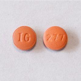 Hydroxyzine Tabs 50mg - No Score Round Non-Returnable B100 By Glenmark Pharmac