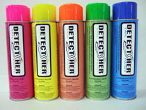 Detect Her Tail Spray Inverted Tip - Fluorescent Yellow Each By H&W Products Llp