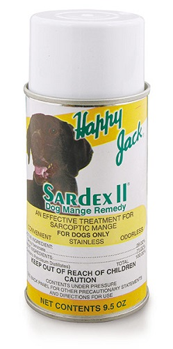 Sardex II Mange Aero 9.5 oz Each By Happy Jack