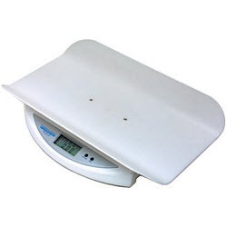 Digital Tray Scale (Pediatric) Portable W/ Plastic Tray Each By Health O Meter P