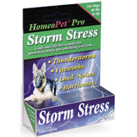 Homeopet Storm Stress For Dogs Large (80# And Up) 15ml By Homeo Pet