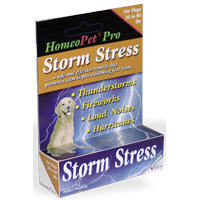 Homeopet Storm Stress For Dogs Medium (21-80#) 15ml By Homeo Pet