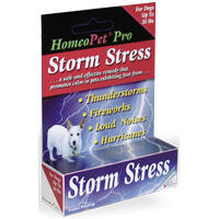 Homeopet Storm Stress For Dogs Small (1-20#) 15ml By Homeo Pet