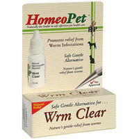 Homeopet Worm Clear [Tape Hook Round Worms] 15ml By Homeo Pet