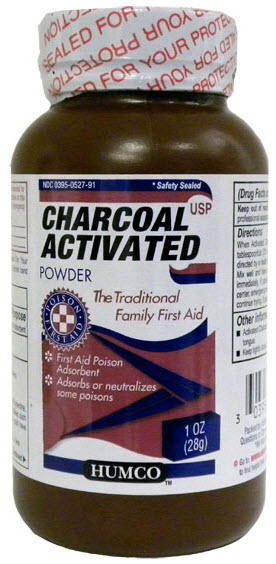 Charcoal Powder Activated 8 oz By Humco