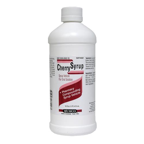 Simple Syrup Cherry 16 oz By Humco