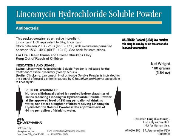 Lincomycin Soluble Powder 160gm By Huvepharma