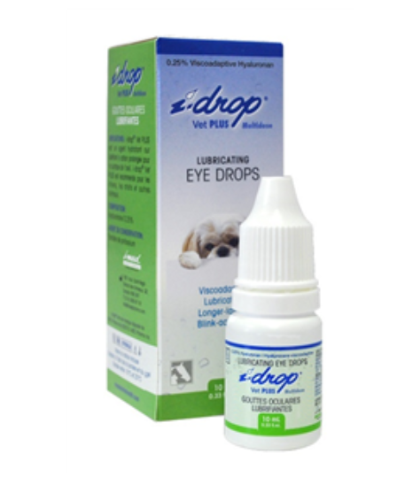 I-Drop Vet Plus Ophthalmic Solution (0.25% Sodium Hyaluronate + Glycerin) 10ml B