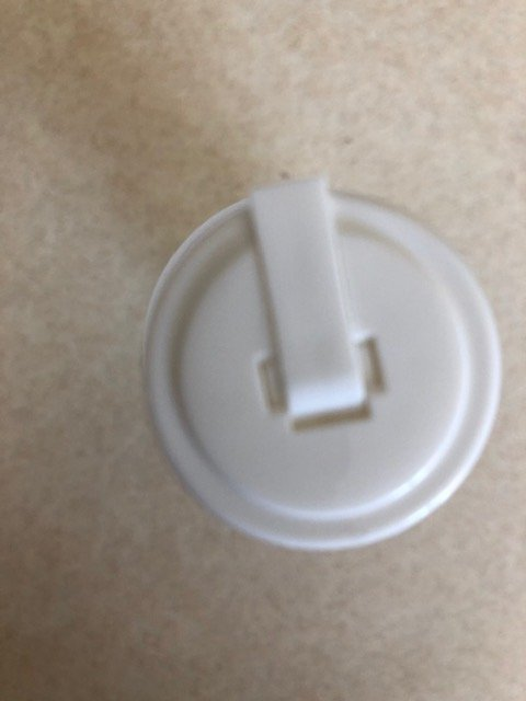 Bottle Plastic With Flip Top 4 oz By Industrial Container