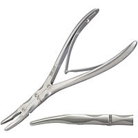Beyer Rongeur Double Action - Slightly Curved Jaws 3mm Wide 7 Non-Returnable