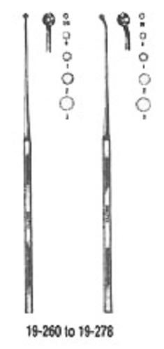 Currette Buck Ear #1 Angled Sharp 6.5 Non-Returnable - Dropship Order: Al
