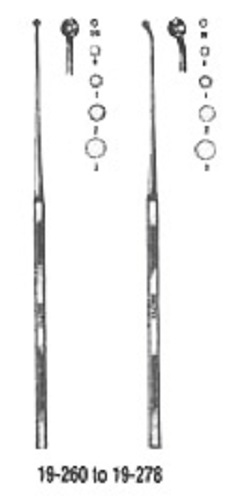 Currette Buck Ear #2 Angled Sharp 6.5 Non-Returnable - Dropship Order: Al