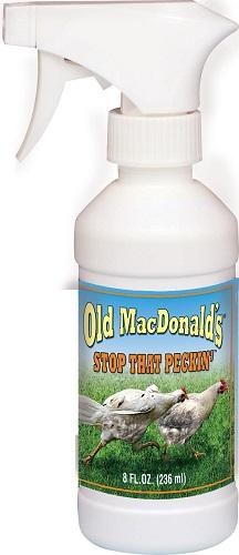 Stop That Peckin Spray 8 oz By Jmsad