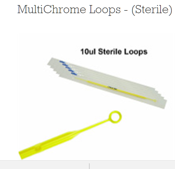 Multichrome Loops (Sterile) B100 By Kacey