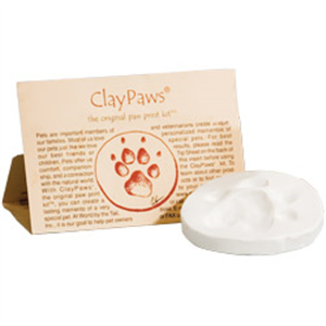 Paw Print Kit - White Clay Each By Kelco