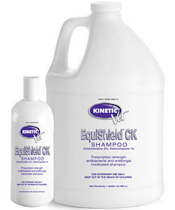 Equishield Ck Medicated Shampoo Gal By Kinetic Technologies