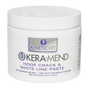 Kera-Mend Hoof Crack & White Line Paste 4 oz By Kinetic Technologies