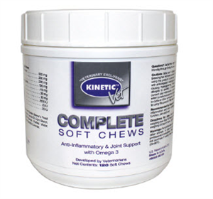 Kinetic Vet Completee Soft Chews B120 By Kinetic Technologies