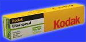 X Ray Film Dental Ultra-Speed Intraoral #0 7/8 X1-3/8 B100 By Kodak