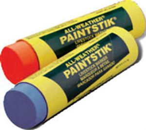 Paintstik Livestock Markers [Fluorescent Tangerine] All-Weather B12 By La-Co/Lak