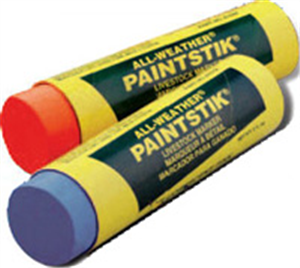 Paintstik Livestock Markers [Silver] All-Weather B12 By La-Co/Lake Chemical