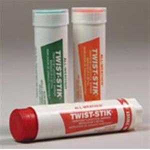 Twist-Stik Livestock Markers [Yellow] All-Weather B12 By La-Co/Lake Chemical