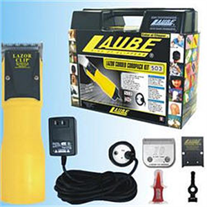 Laube 503 Lazor Clipper Kit With Two Speed Cordpack Black Each By Laube