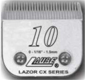 Clipper Blade Cx #10 Lazor Surgical Clip Each By Laube