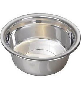Bowls Standard Stainless Steel 1QT. Each By Leather Brothers