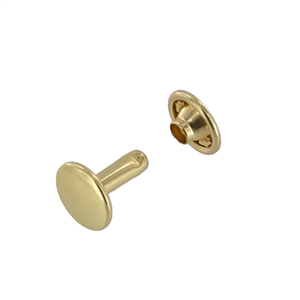 Brass Rivet 2 Piece 5/16 Pk200 By Leather Brothers