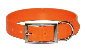Dog Collar Sunglo 3/4 X16 Orange P6 By Leather Brothers