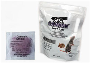 Cannon Soft Bait 4Lbs Bag By Liphatech