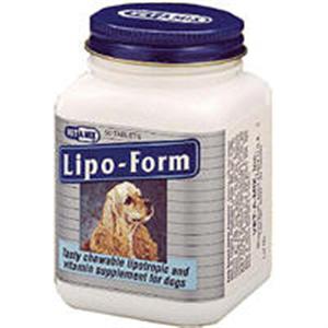 Lipo Form Chew Tabs B500 By Lloyd