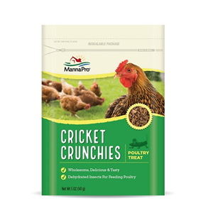 Cricket Crunchies Manufacturer Backorder No Stock Available 5 oz By Manna Pro