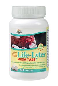 Life-Lytes Mega Tab 30 Count Each By Manna Pro Corporation